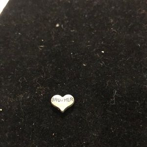 Jewelry - Charm for locket.  Brother